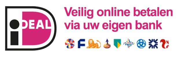 Betalen met iDEAL bij mc-sloten.nl