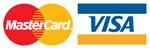 Betalen met Credit Card, MasterCard en Visa bij mc-sloten.nl
